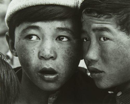 Portret dwóch mongolskich ch³opców