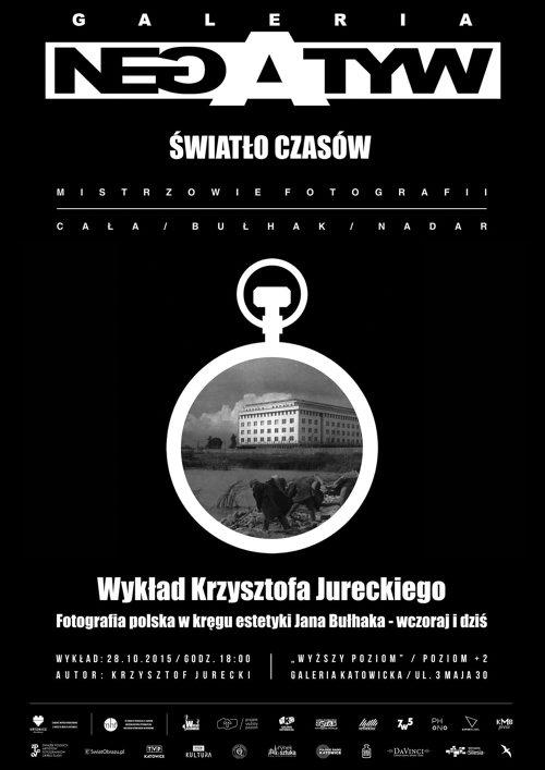 New_plakat wykładu K. Jureckiego