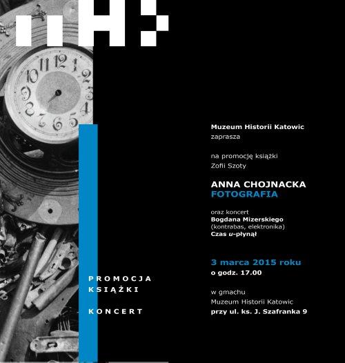 New_zaproszenie promocja książki - Anna Chojnacja