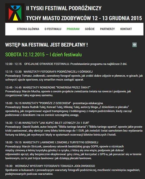 New_Festiwal podróżniczy